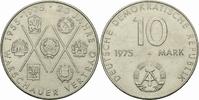 10 Mark 1975 DDR DDR Deutschland 10 Mark 1975 A Berlin Warschauer Vertr... 1,50 EUR  zzgl. 1,00 EUR Versand