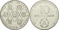 10 Mark 1975 DDR DDR Deutschland 10 Mark 1975 A Berlin Warschauer Vertr... 3,00 EUR  zzgl. 1,00 EUR Versand