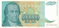 500.000 Dinara 1993 Jugoslawien Jugoslawien 500000 Dinara 1993 Dositej ... 0,50 EUR  zzgl. 1,00 EUR Versand