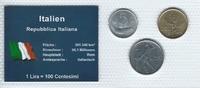 Münzblister 1977-1979 Italien Italien Münzsatz Kursmünzen 5-20/50 Lire ... 2,75 EUR  zzgl. 1,00 EUR Versand