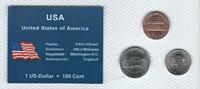 Münzblister 2003 USA USA Münzsatz Kursmünzen 1 Cent 5 10 Cents One Dime... 2,75 EUR  zzgl. 1,00 EUR Versand
