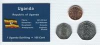 Münzblister 1987 Uganda Uganda Münzsatz Kursmünzen 1 5 10 Schilling 198... 2,75 EUR  zzgl. 1,00 EUR Versand