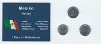 Münzblister 2002/2009 Mexiko Mexiko Münzsatz Kursmünzen 5 10 20 Centavo... 2,75 EUR  zzgl. 1,00 EUR Versand