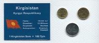 Münzblister 2008 Kirgisistan Kirgisistan Münzsatz Kursmünzen 10 50 Tyin... 2,75 EUR  zzgl. 1,00 EUR Versand