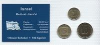 Münzblister 1981/1986/2000 Israel Israel Münzsatz Kursmünzen 1 Agora 5 ... 2,75 EUR  zzgl. 1,00 EUR Versand