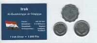 Münzblister 1975/1981/1990 Irak Irak Münzsatz Kursmünzen 10 25 50 Fils ... 2,75 EUR  zzgl. 1,00 EUR Versand