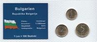 Münzblister 2000 Bulgarien Bulgarien Münzsatz Kursmünzen 1 2 5 Stotinki... 2,75 EUR  zzgl. 1,00 EUR Versand