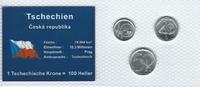 Münzblister 1994/2001/2003 Tschechien Tschechien Münzsatz Kursmünzen 10... 2,75 EUR  zzgl. 1,00 EUR Versand