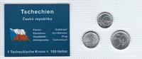 Münzblister 1995/2002/2003 Tschechien Tschechien Münzsatz Kursmünzen 10... 2,75 EUR  zzgl. 1,00 EUR Versand