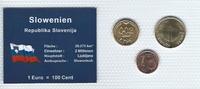 Münzblister 1992/2000/2009 Slowenien Slowenien Münzsatz Kursmünzen 002 ... 2,75 EUR  zzgl. 1,00 EUR Versand