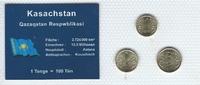Münzblister 2004/2005 Kasachstan Kasachstan Münzsatz Kursmünzen 1 2 5 T... 2,75 EUR  zzgl. 1,00 EUR Versand