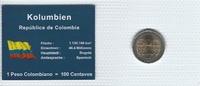 Münzblister 2006 Kolumbien Kolumbien Münzsatz Kursmünzen 500 Pesos 2006... 2,75 EUR  zzgl. 1,00 EUR Versand