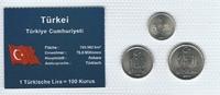 Münzblister 2003/2004 Türkei Türkei Münzsatz Kursmünzen 50.000 100.000 ... 2,75 EUR  zzgl. 1,00 EUR Versand