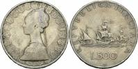 500 Lire 1958 Italien Italien 500 Lire 1958 Silber Caravelle Kolumbus F... 9,00 EUR  plus 3,50 EUR verzending
