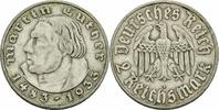 2 Reichsmark 1933 Drittes Reich Drittes Reich 2 Reichsmark 1933 A Berli... 17,00 EUR  plus 3,50 EUR verzending