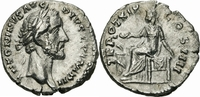 Denar 155/156 Rom Kaiserreich Antoninus Pius Denar Rom 155/6 TR POT XIX... 70,00 EUR  zzgl. 3,00 EUR Versand