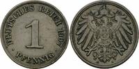 1 Pfennig 1907 Deutsches Reich Deutsches Reich Kaiserreich 1 Pfennig 19... 1,50 EUR  zzgl. 1,50 EUR Versand