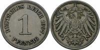 1 Pfennig 1907 Deutsches Reich Deutsches Reich 1 Pfennig 1907 E Muldenh... 5,00 EUR  zzgl. 1,50 EUR Versand