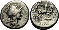 Denar 115/114 v. Chr. Rom Republik NM Cipius Denar Roma Flügel Helm Vic... 100,00 EUR