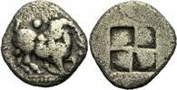 Trihemiobol 510-480 v. Chr. Makedonien Aigai Aegae Makedonien Trihemiob... 65,00 EUR