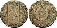 1 Sol 1793 Frankreich Frankreich Nationalkonvent 1 Sol 1793 I Limoges C... 100,00 EUR
