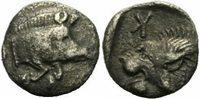Tetartemorion 525-475 v. Chr. Mysien Kyzikos Mysien Tetartemorion 525-4... 125,00 EUR  zzgl. 5,00 EUR Versand