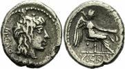 Quinar 89 v. Chr. Rom Republik Porcius Cato Quinar Rom 89 VICTRIX Victo... 125,00 EUR