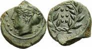 AE Hemilitron 420-407 v. Chr. Sizilien Himera Sizilien AE Hemilitron 42... 125,00 EUR  zzgl. 5,00 EUR Versand