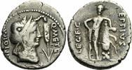 Denar 47/46 v. Chr. Rom Republik Caecilius Metellus Pius Scipio Eppius ... 250,00 EUR