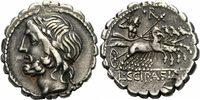 Denar 106 v. Chr. Rom Republik Cornelius Scipio Asiaticus Denar Serratu... 300,00 EUR kostenloser Versand