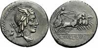 Denar 85 v. Chr. Rom Republik Iulius Bursio Denar Rom 85 Apollon Merkur... 225,00 EUR kostenloser Versand