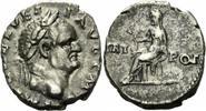 Denar 71 Rom Kaiserreich Vespasian Denar Rom 71 TRI POT Vesta Simpulum ... 150,00 EUR  zzgl. 5,00 EUR Versand