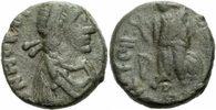 1/2 Centenionalis 410-423 Rom Kaiserreich Honorius Aes IV Halbcentenion... 70,00 EUR  zzgl. 3,00 EUR Versand