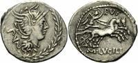 Denar 101 v. Chr. Rom Republik M. Lucius R...