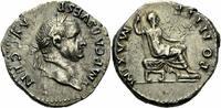 Denar 73 Rom Kaiserreich Vespasian Denar Rom 73 PONTIF MAXIM Sella Curu... 400,00 EUR kostenloser Versand