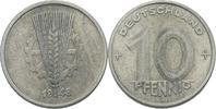 10 Pfennig 1948 DDR DDR Deutschland 10 Pfennig 1948 A Berlin Aluminium ... 0,75 EUR  zzgl. 1,00 EUR Versand