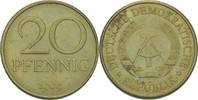 20 Pfennig 1969 DDR DDR Deutschland 20 Pfennig 1969 Berlin o.Mzz. Messi... 1,50 EUR  zzgl. 1,00 EUR Versand
