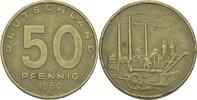 50 Pfennig 1950 DDR DDR Deutschland 50 Pfennig 1950 A Berlin SS/S Pflug... 1,50 EUR  zzgl. 1,00 EUR Versand