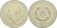 20 Mark 1971 DDR DDR Deutschland 20 Mark 1971 A Berlin Ernst Thälmann 1... 2,00 EUR  zzgl. 1,50 EUR Versand