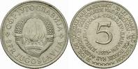 5 Dinar 1975 Jugoslawien Jugoslawien 5 Dinara 1975 30 Jahrestag Sieg üb... 2,00 EUR  zzgl. 1,00 EUR Versand