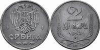 2 Dinara 1942 Serbien Serbien Deutsche Besatzung (1941-1944) 2 Dinara 1... 7,00 EUR  zzgl. 1,00 EUR Versand